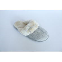 Women′s Indoor Slipper with Jersey