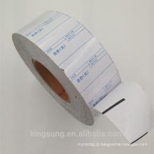 rolo de etiqueta linerless material de papel térmico com mais baixo preço