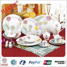 China Supplier Factory Produced 60pcs Dinner Set / Dinner Plate Designs / Ikea Dinnerware Sets