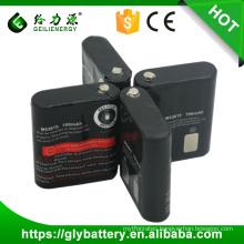 Wholesale NICD AA 700mAh 3.6V Battery Pack For Portable Radio MOTOROLA