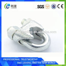Drop Forged Din 741 Fasteners Wire Rope Clips