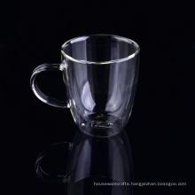 Double Wall Wine Glass Reusable Coffee Cup Custom