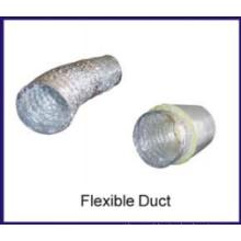 duto de ar de alumínio não-isolados