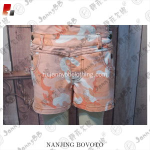Children orange  striped soccer camouflage overalls