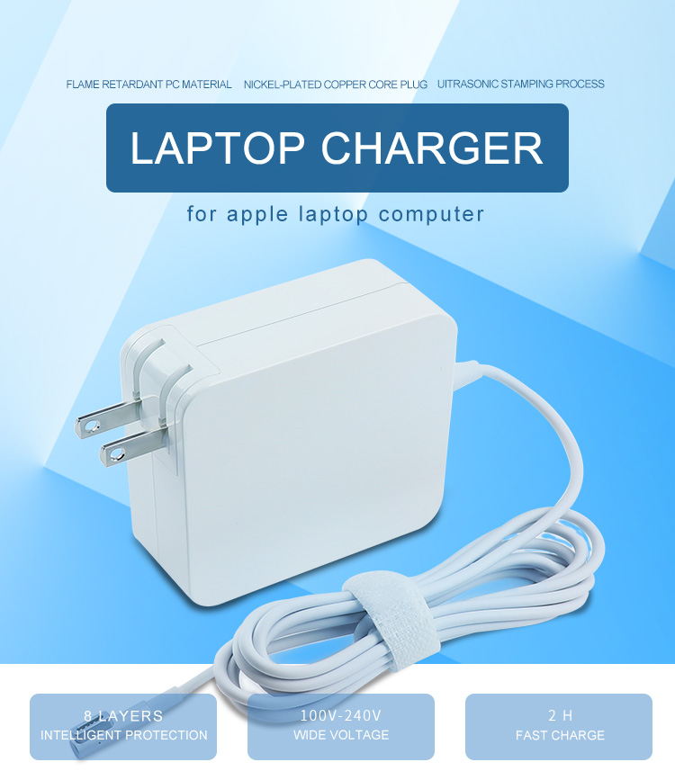45WL US plug MacBook pro charger