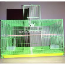 Cage ronde portative économique de chargeur d'oiseau