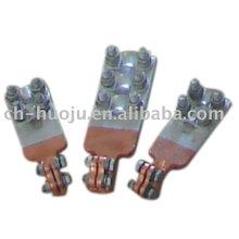 Connecteur de transformateur bimétallique