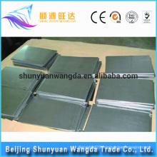 coated Iridium, ruthenium titanium alloy plate