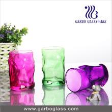 Coupe en verre pulvérisé couleur 12 oz (GB062012-P)
