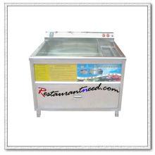 F039 160L Laveuse de légumes industrielle simple réservoir
