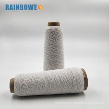 Alibaba Chine fabrication stock en gros spandex caoutchouc latex recouvert de fils pour chaussettes et gants