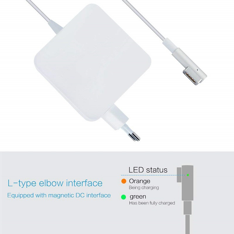 85W macbook charger