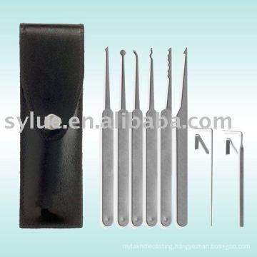 Stainless steel lock tool