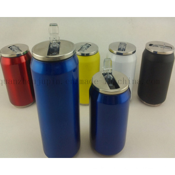 OEM Logo Creative Eco-Friendly Stainless Steel Can for Promotion