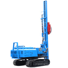 Solar screw PV post pile driver hydraulic pile driver with impact rammer hammer for sale