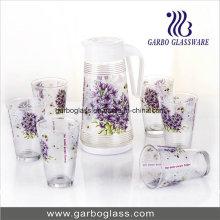 Ensemble de verres beuverie de 7PCS avec impression de transfert de chaleur