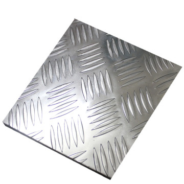 Placa de aluminio ultrafina en relieve para decoración