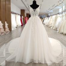 2018 New fashion eye-catching ball gown wedding dress