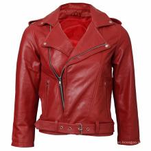 garments manufacturer stylish cropped motorcycle jackets leather jackets