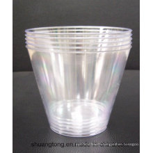 9oz Tumbler Party Essentials Hard Plastic Party Cups/Old Fashioned Tumblers, Clear