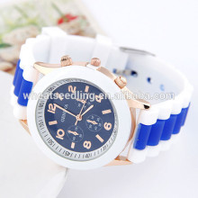 Fashion candy colored cheap lucky sport watch