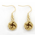Горячие продажи Необычные 18k Золотые ювелирные изделия круглые серьги стержней