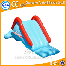 Used water park slide tubes, small inflatable water slide for kids