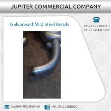 La mejor calidad de acero galvanizado curvas dobles con daños y resistente a la corrosión