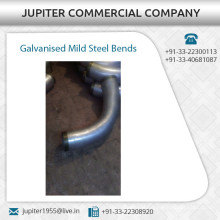 Best Quality Galvanized Mild Steel Bends with Damage and Rust Resistant