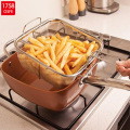 Set Casserole Coating Pan Aluminium Non-stick