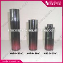 China Garrafa Airless de luxo use limpa completamente para a fundação da loção, frasco de 30ml