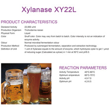 Xylanase pour l'industrie brassicole