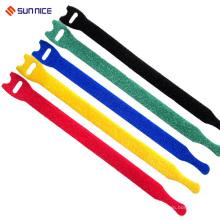 Correa de cable de gancho y lazo de autoretención con tamaño personalizado