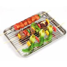 Grilles de parc de barbecue en acier inoxydable Plats et casseroles de cuisson Boulangerie Grille de cuisson en acier inoxydable