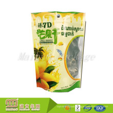 Custom Printed Zip Top Dried Mango Snack Food Packaging Bag Stand Up Pouch Printing Thailand
