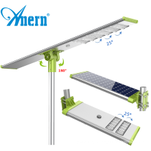 Anern outdoor led street light 100w pole specifications