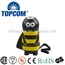 Bee animal tipo portátil de emergência manivela gerador de energia