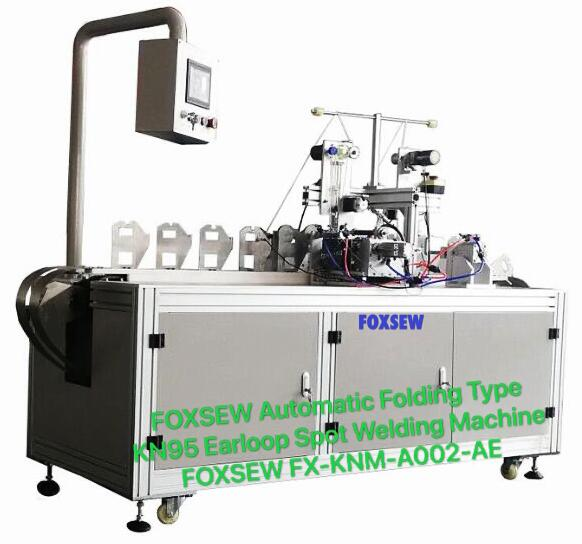 Foxsew Automatic Folding Type KN95 Mask Welding Machine FX-KNM-A002-AE