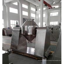 2017 misturador cônico dobro da série de W, máquina do misturador da farinha dos SS, horizontal v tipo misturador