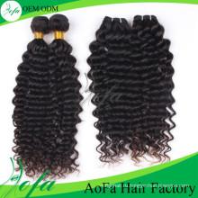 Расширения монгольский человеческих волос девственницы (AFDW)