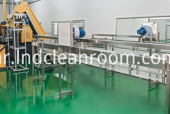 GMP clean room design for electronics factory