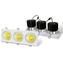 Platz 3 x 6W COB LED Scheinwerfer