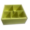 Caixa de papel interna com suporte divisor