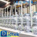 Nnew productos profesional flotante de acero al carbono válvula de bola