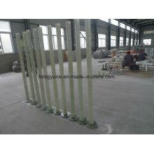 Tubos de plástico reforçado com fibra de vidro e acessórios