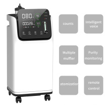 10 liters hospital medical home care  oxygen concentrator with nebulizer