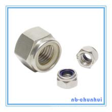 Hex Nut Nylon Insert Nut-DIN985