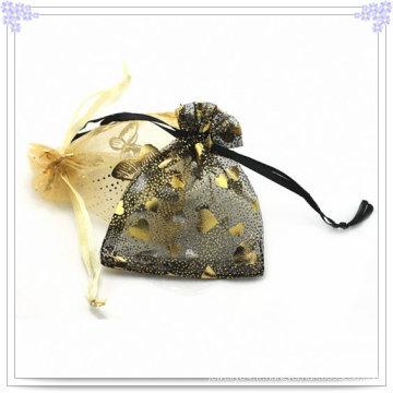 Sac à bijoux de mode fait de Mull-Chiffon (BG0002)