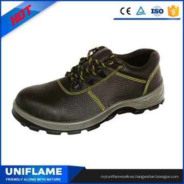 Zapatos de seguridad de trabajo de hombre de puntera de acero industrial