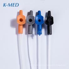 consumibles médicos catéter de succión de pvc de grado médico